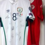 Sligo Rovers & Ireland Signed Jerseys