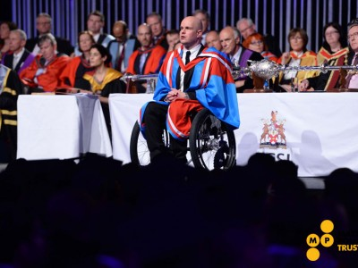 Mark Pollock receives honorary doctorate